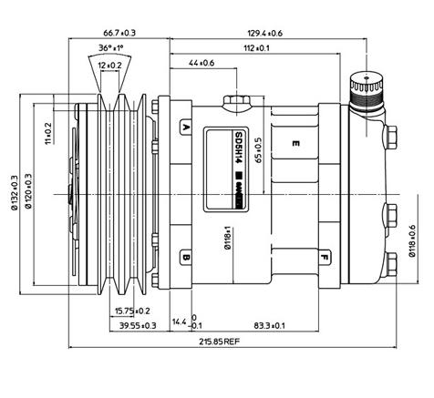Компрессоры Sanden, TM | Aircool parts